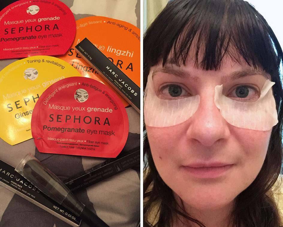 Dubai malls - Sephora eye masks