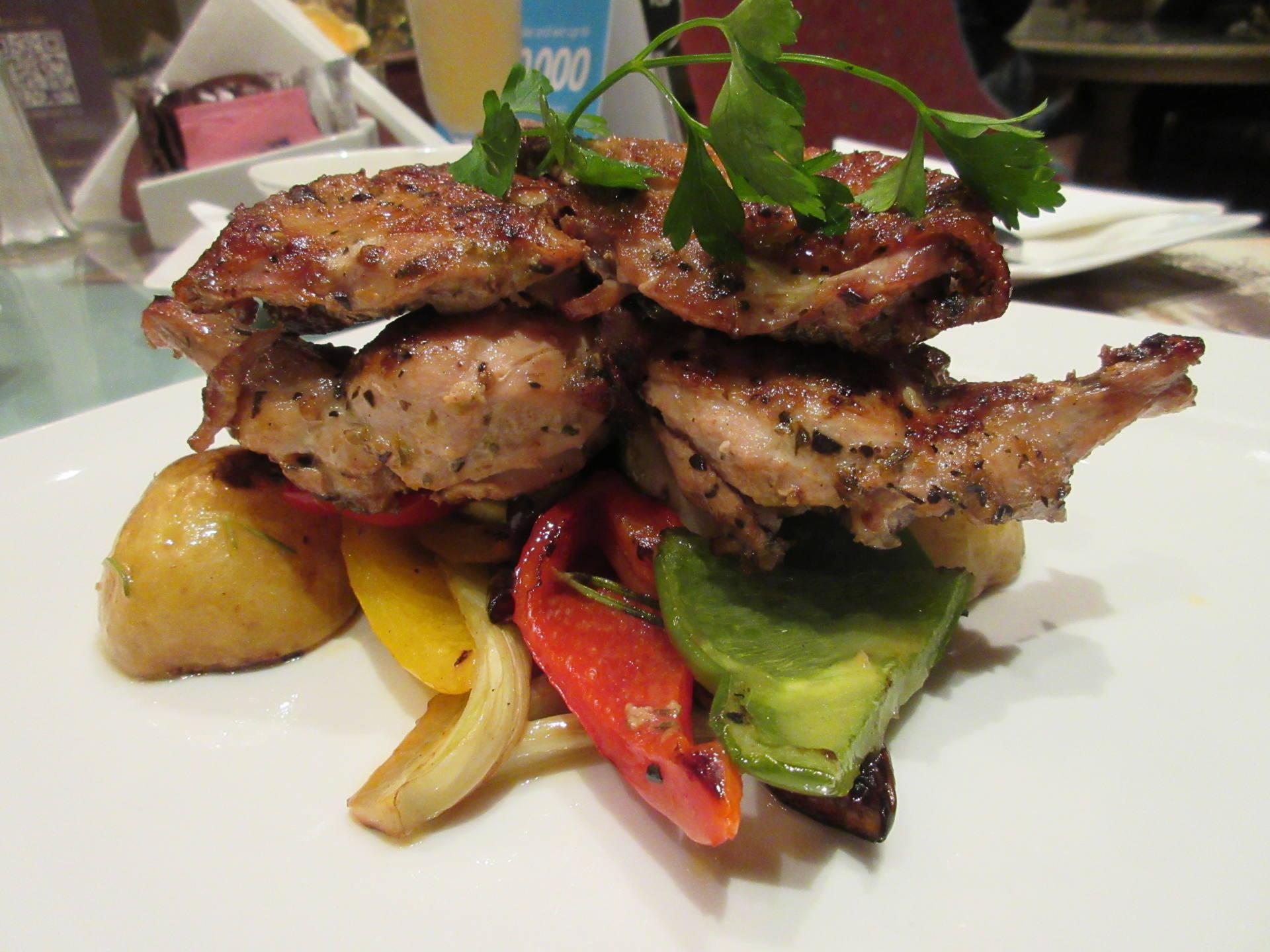 Shakespeare & Co., Dubai - Grilled Baby Chicken
