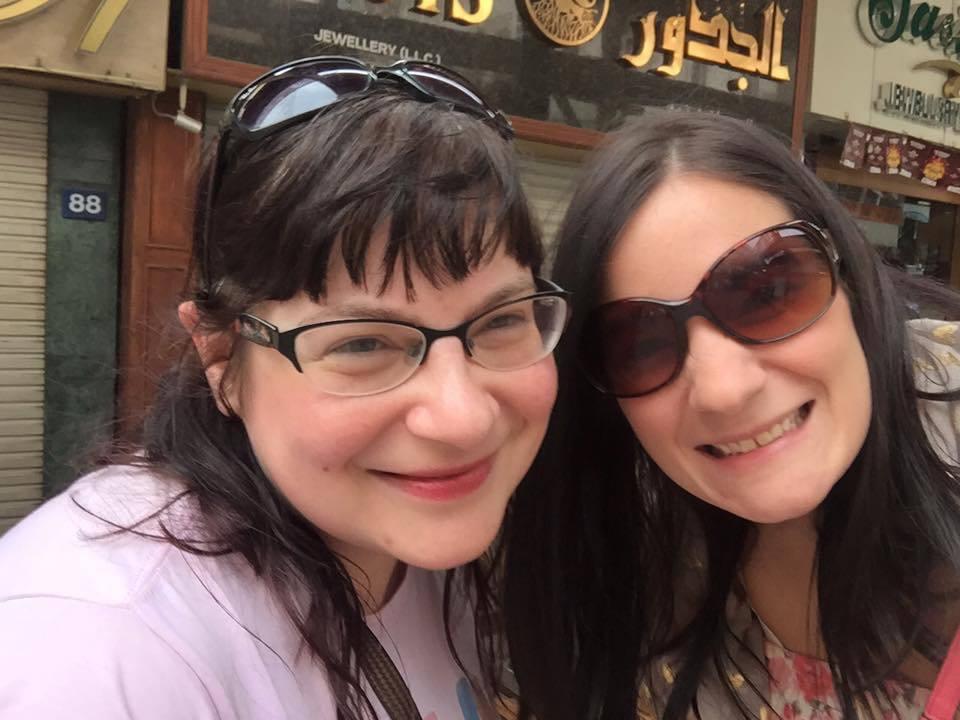 The Old Gold Souk - Dubai Tour - selfie