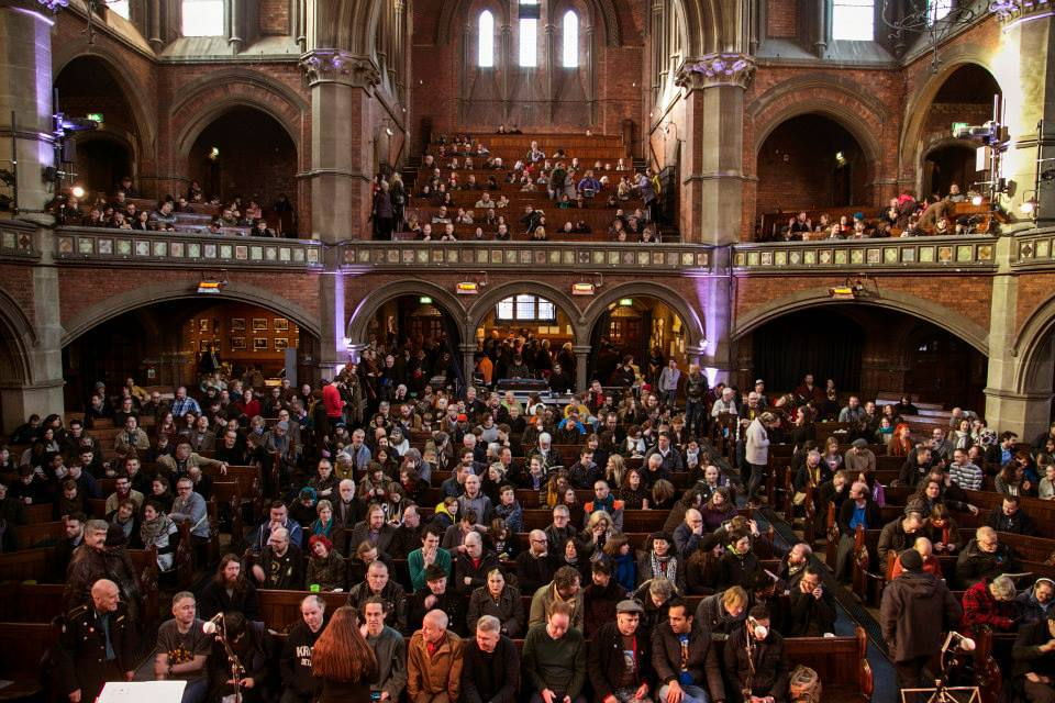 Daylight Music at the Union Chapel - crowd
