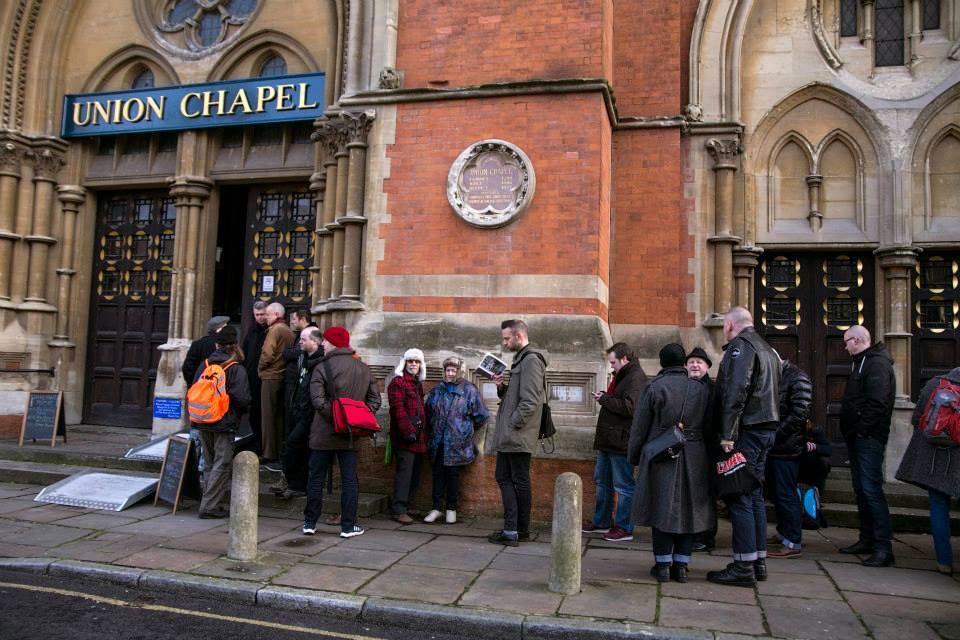 Daylight Music at Union Chapel - Queue
