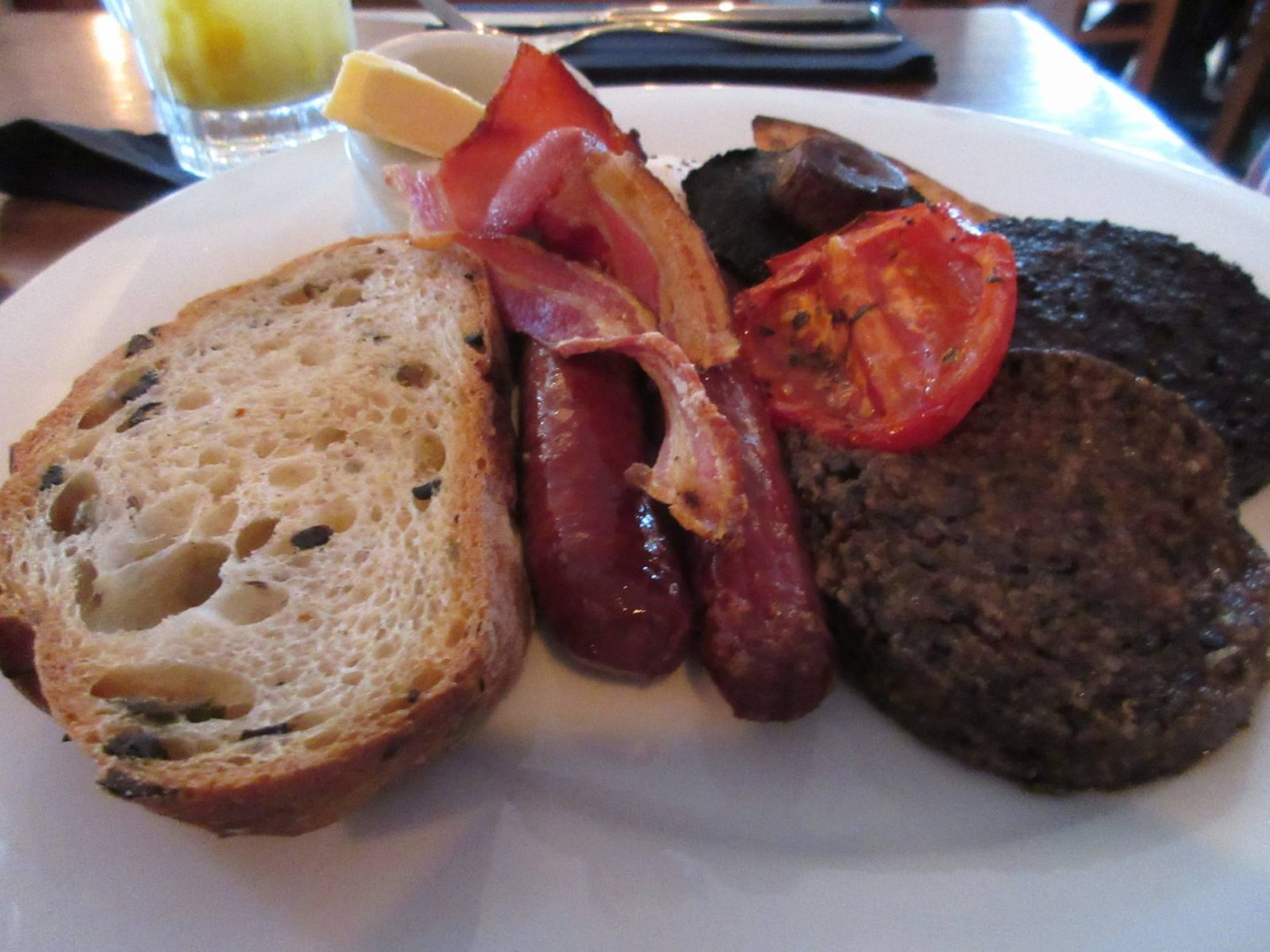 Element, Edinburgh - Full Scottish Breakfast