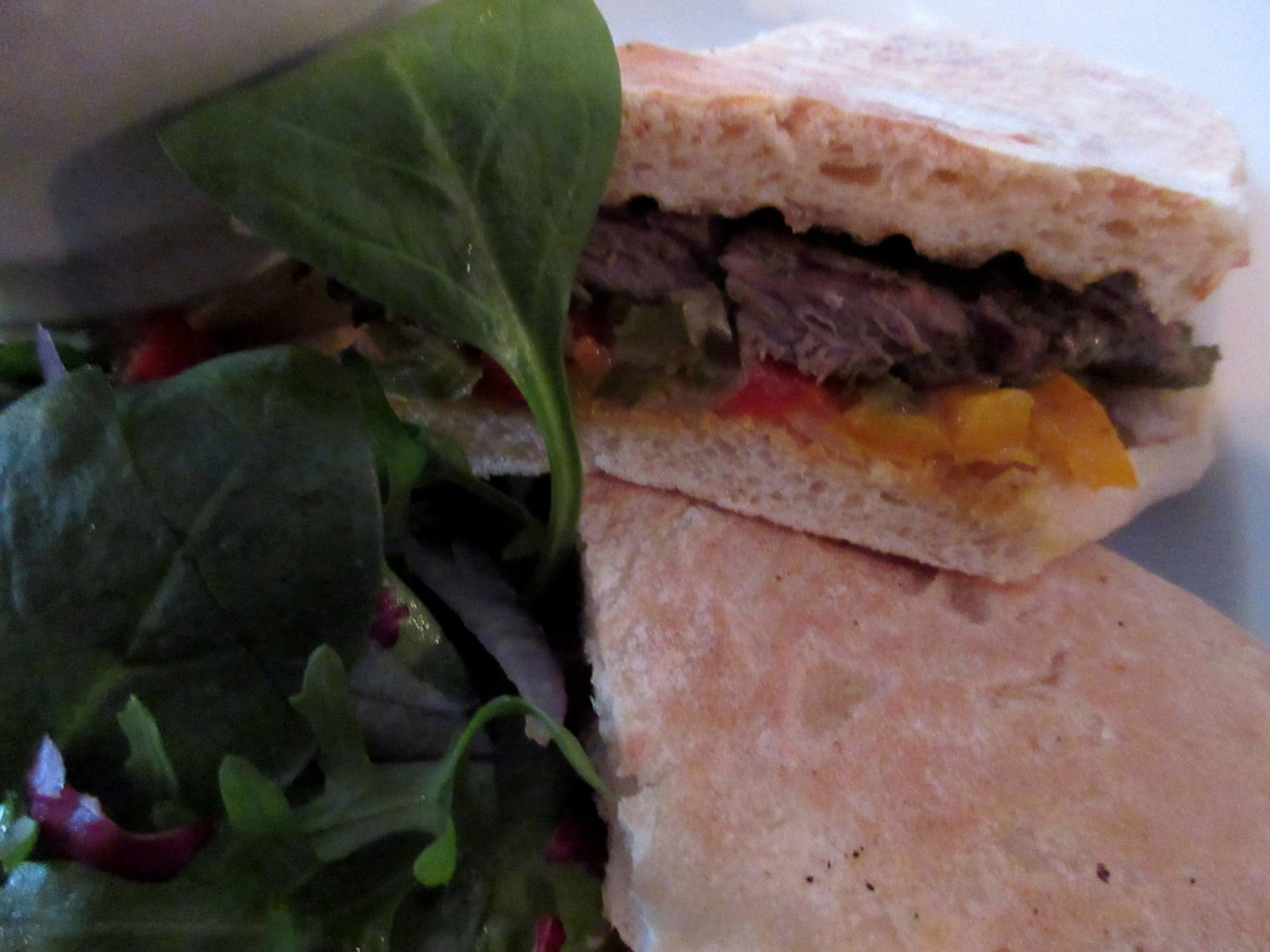 Element, Edinburgh - Chimmichurri Steak Ciabatta