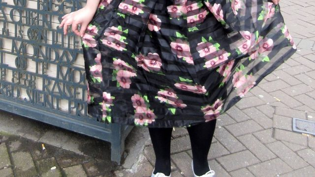 Apricot - Midi Skirt, Rose Street, Edinburgh