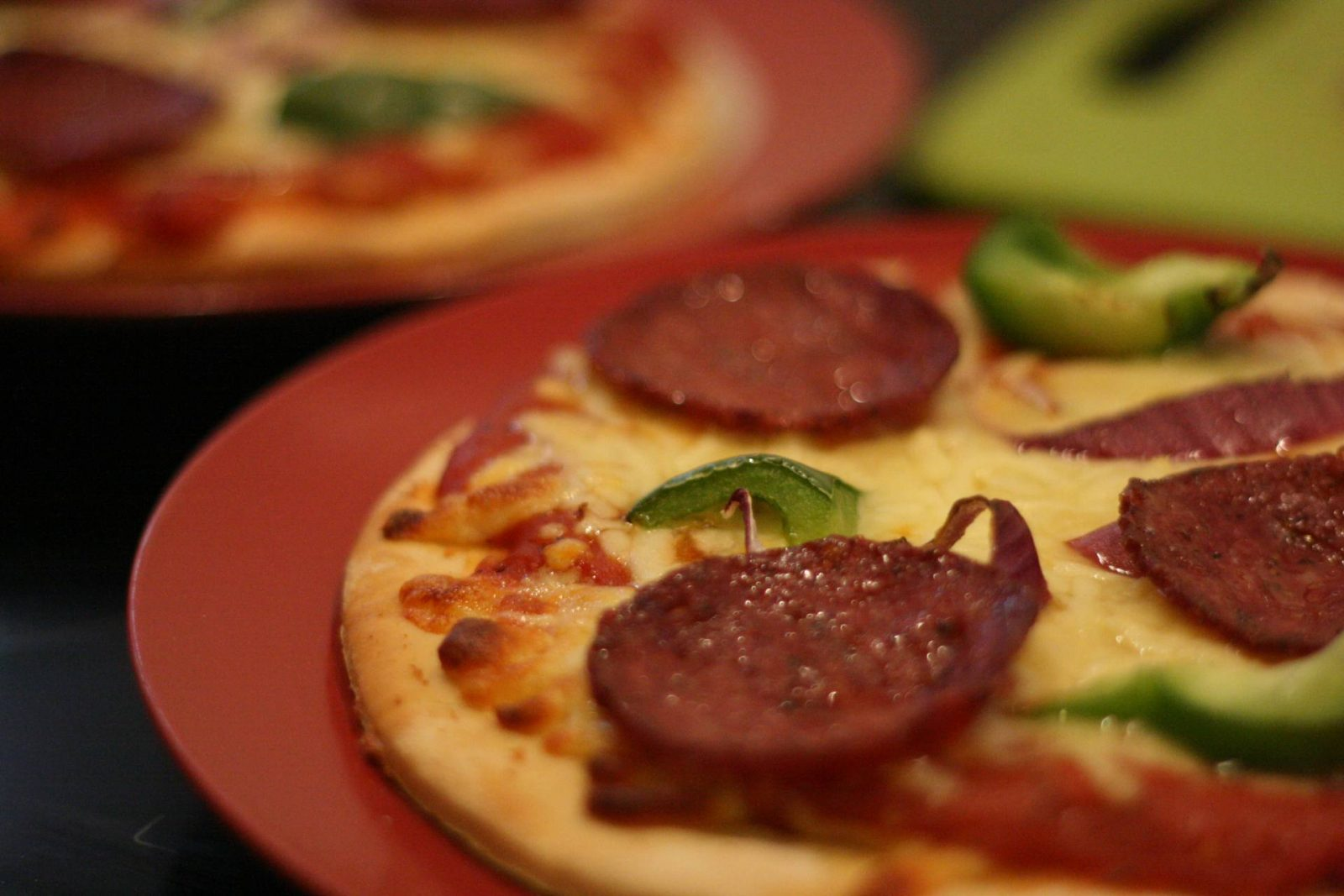 Carnivore Club - homemade pizza using Great Glen Charcuterie salami