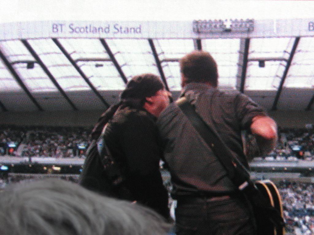 "Bruce Springsteen live - Bruce and ""Little"" Steven, Glasgow 2009"