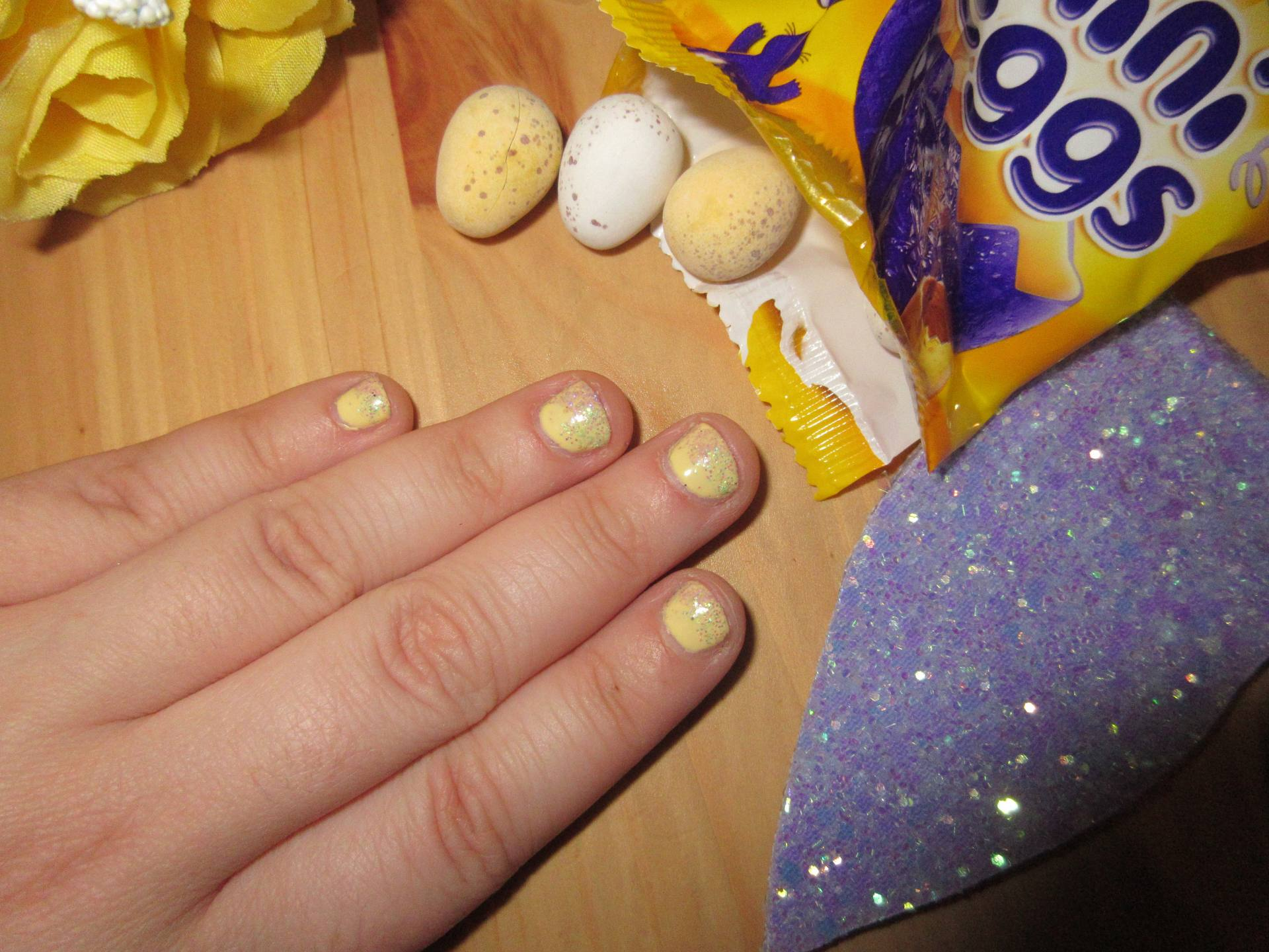 BW Beauty - Easter-themed nails