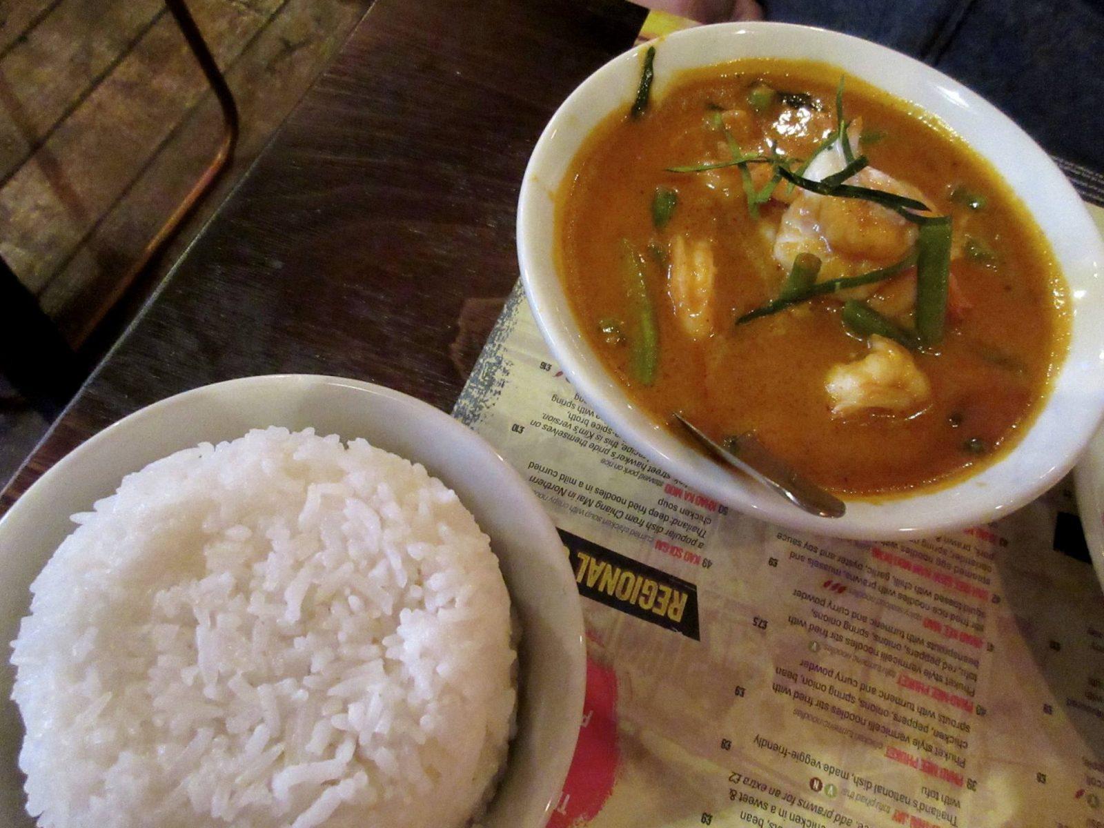 Thaikhun Glasgow review - rando Thai curry