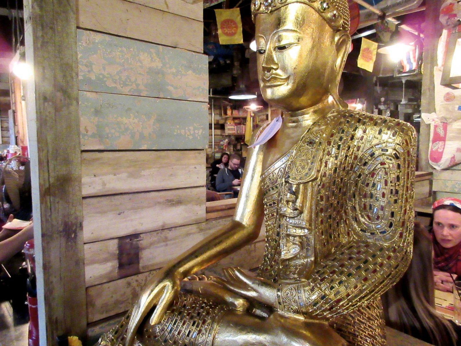 Thaikhun Glasgow review - Buddha