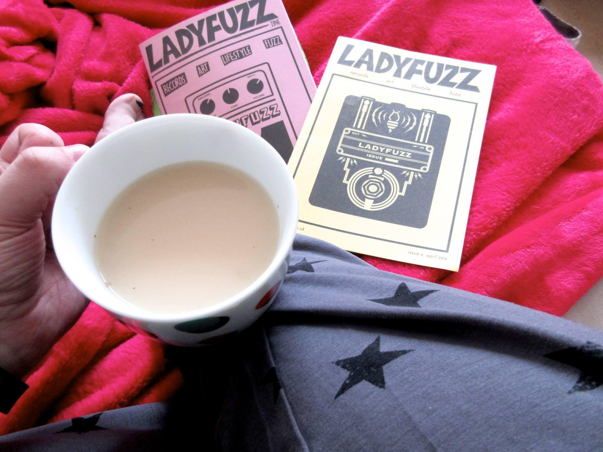 Self-Care Sundays - UKLingerie pyjamas and zines
