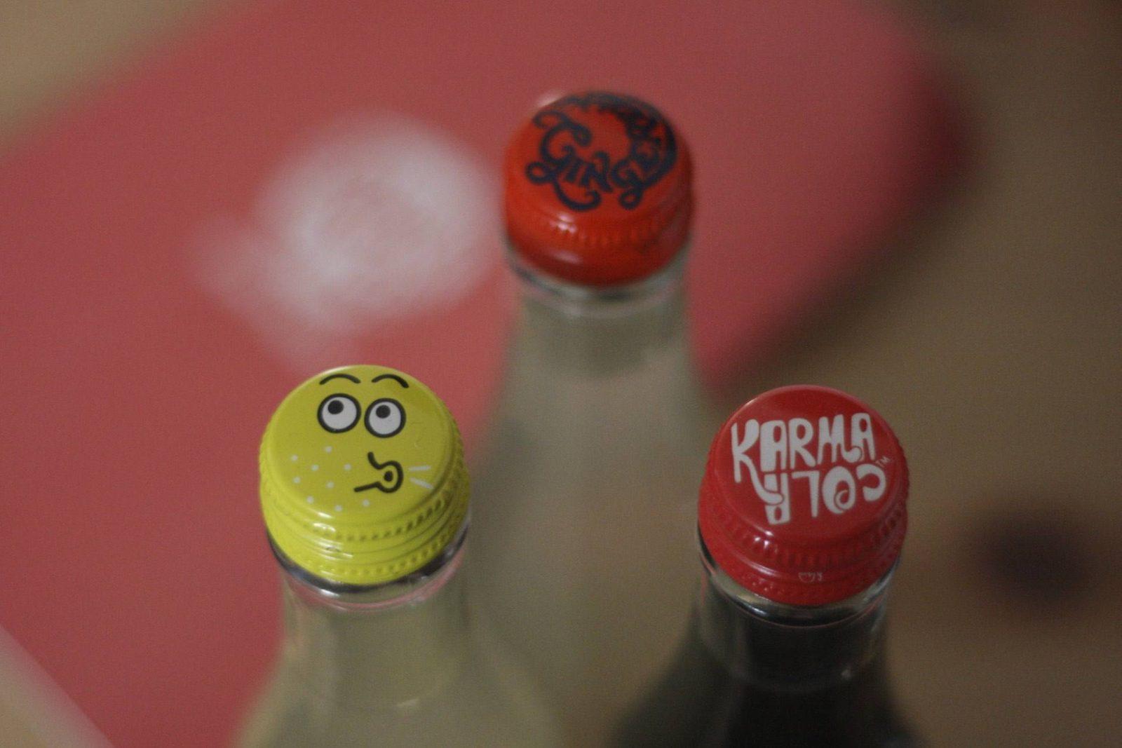 Karma Cola review - the lineup