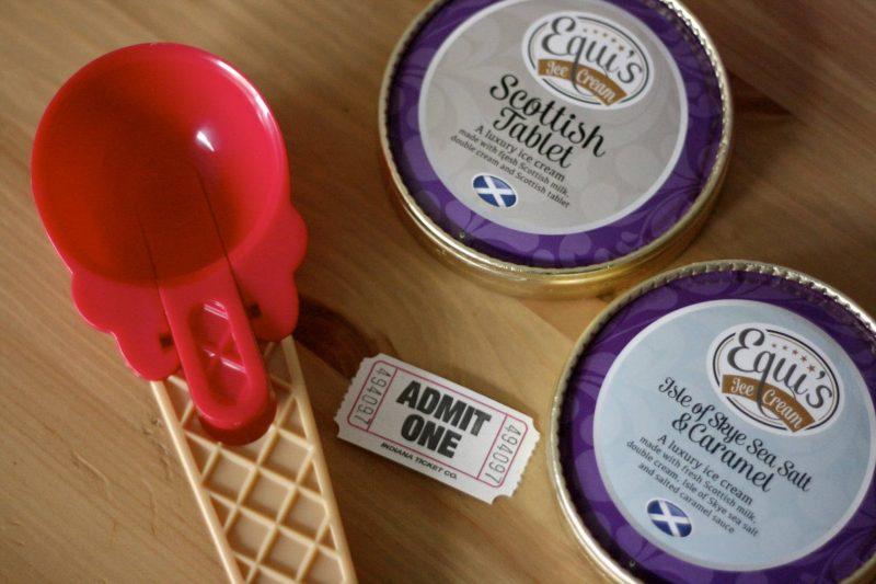Equi's ice cream prepacked tubs