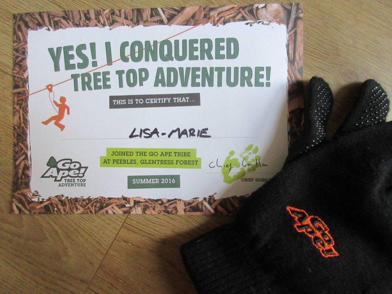 My Go Ape Adventure - Conqueror
