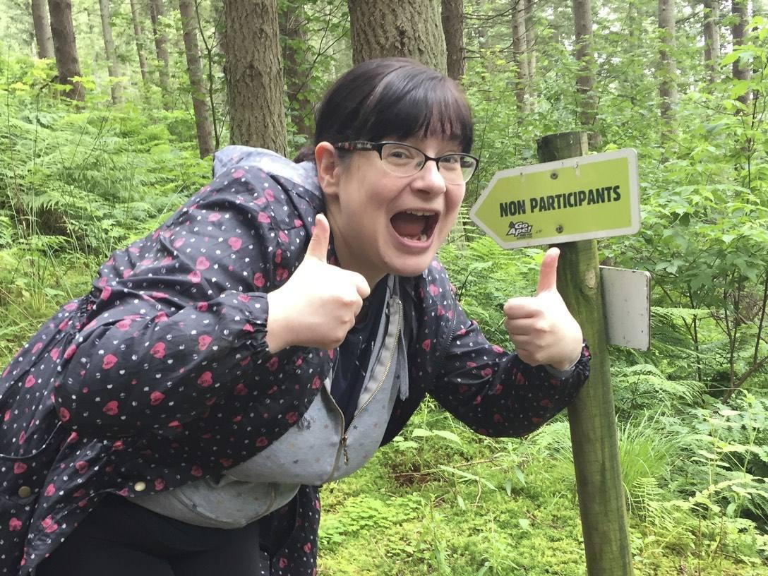 queen of the swingers: my go ape adventure;