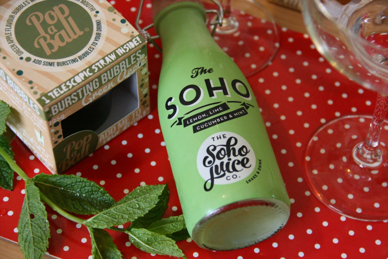summer cocktails with the soho juice co.;