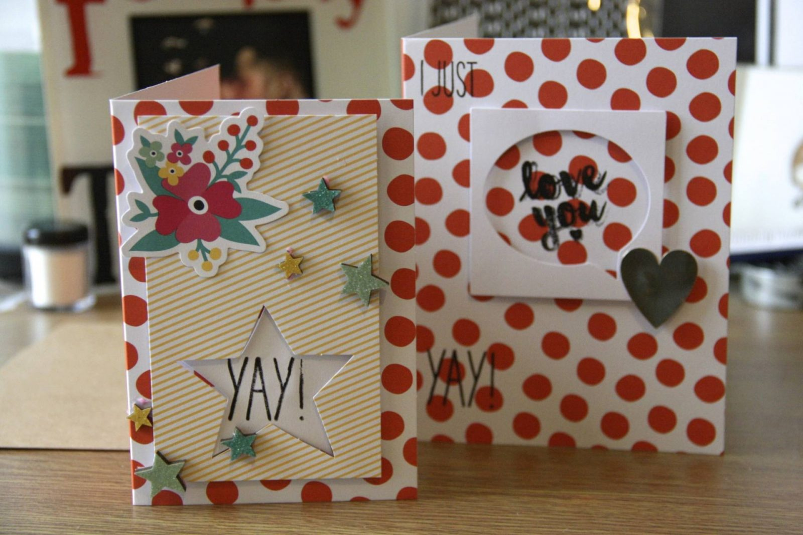 one of a kind greetings cards with stampin' up! uk;