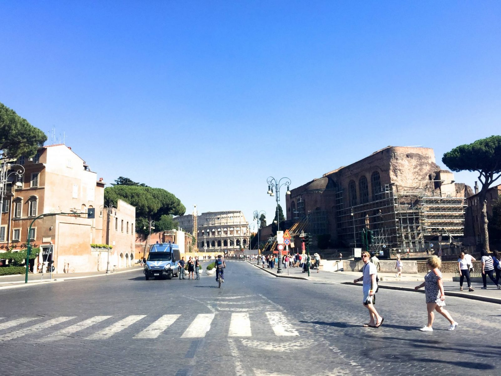 excerpts from a travel journal: a day trip to rome;