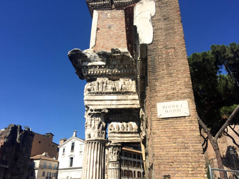 A day trip to Rome - Temple of Minerva