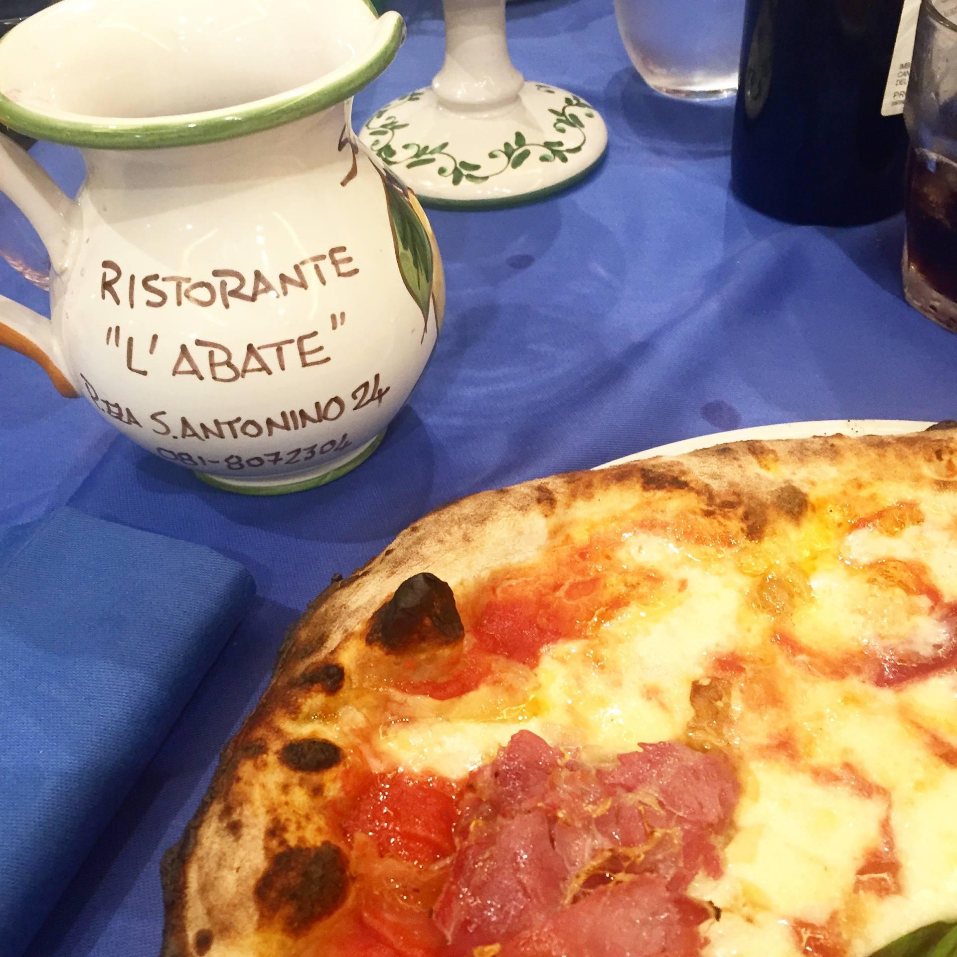 Body positivity on holiday - proper Italian pizza
