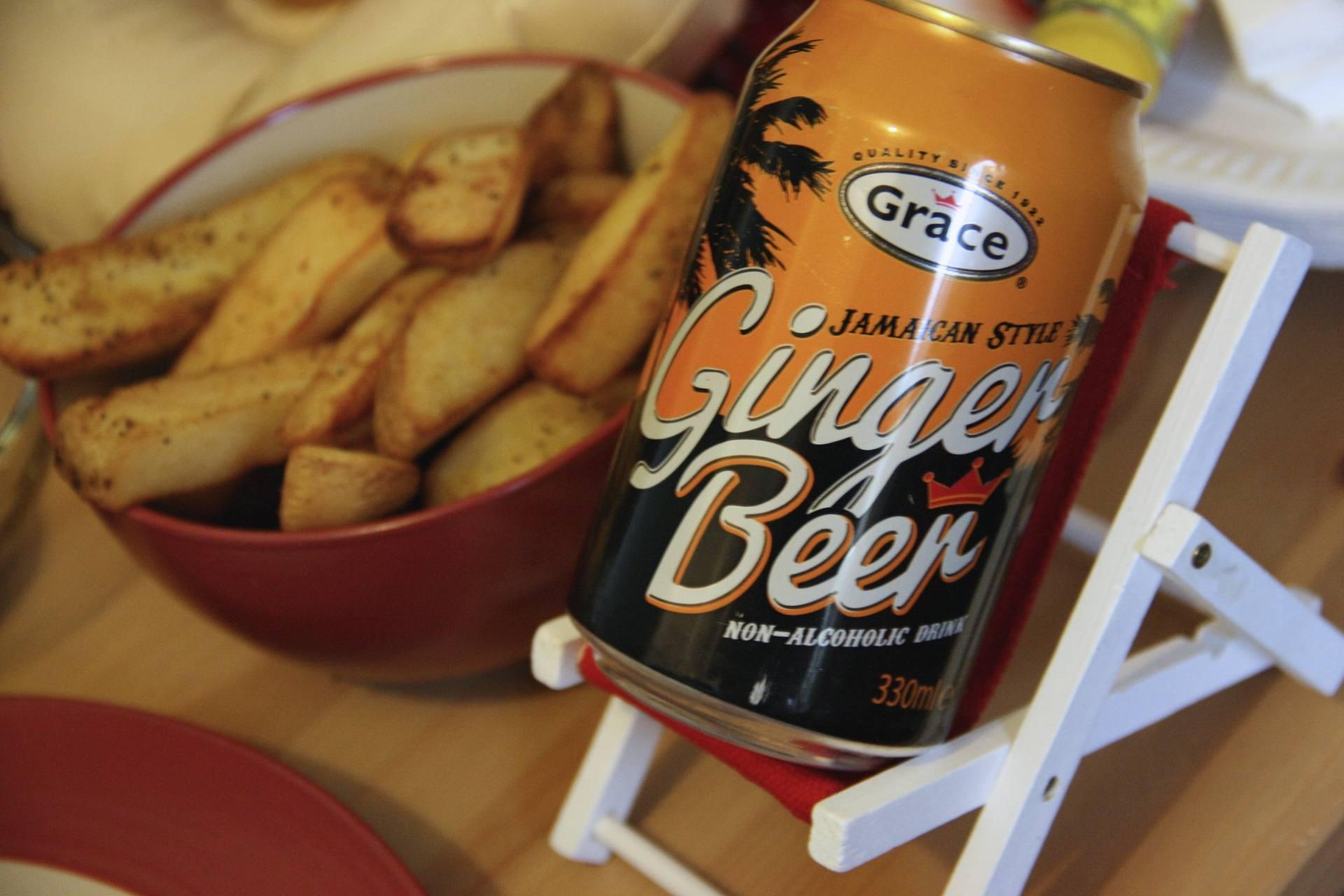 Caribbean Food Week 2016 - Lounging ginger beer