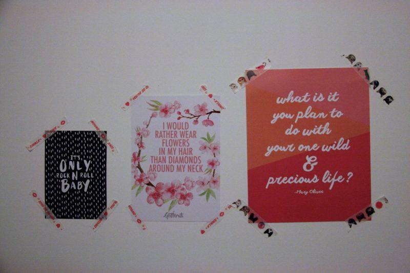 My workspace - prints