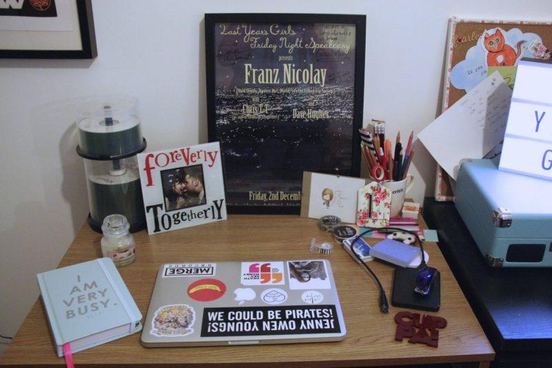 My workspace - desk