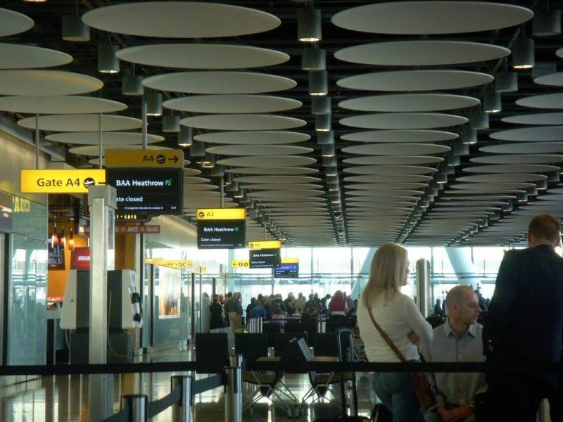 Air Travel and Airports - Heathrow Terminal 5, 2008