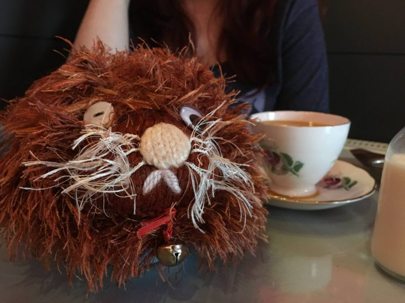 Cake Dates - Tea Jennys cat tea cosy