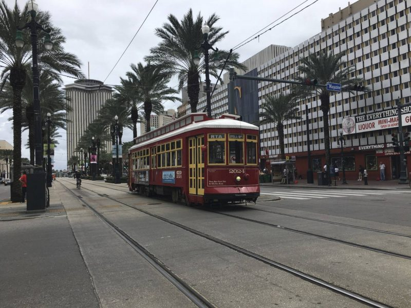 New Orleans - A streetcar named Canal Street