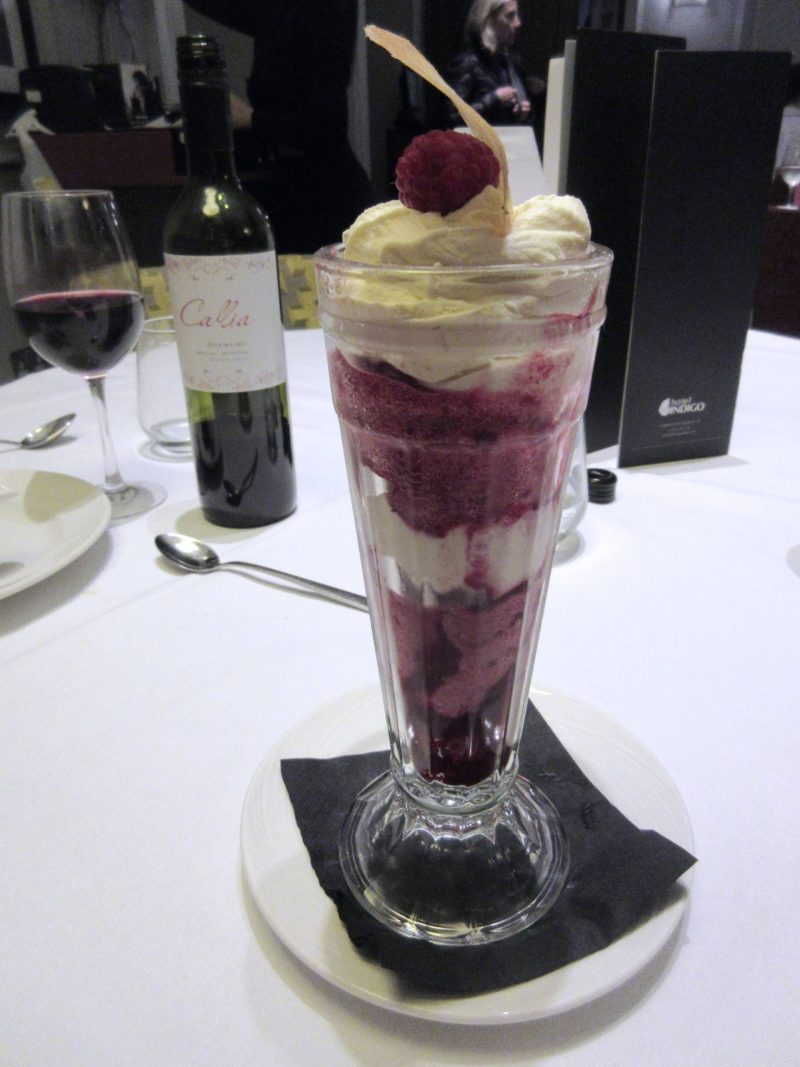 Marco Pierre White Steakhouse - Knickerbocker glory