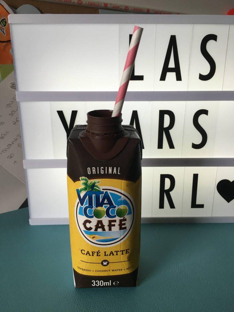Vita Coco - Coconut water cafe latteVita Coco - Coconut water cafe latte