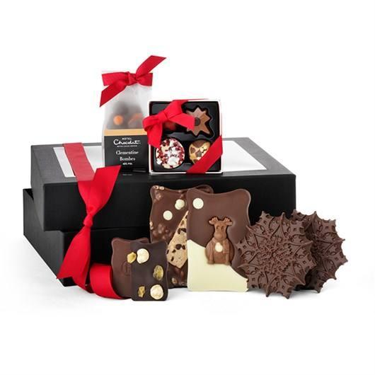 Hotel Chocolat Merry Little Christmas hamper