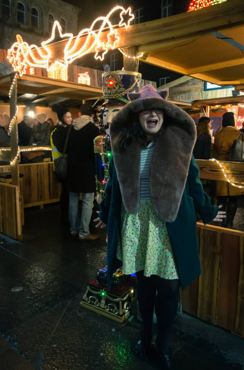 Christmas comfort and joy with Hotter Shoes - Glasgow Christmas market