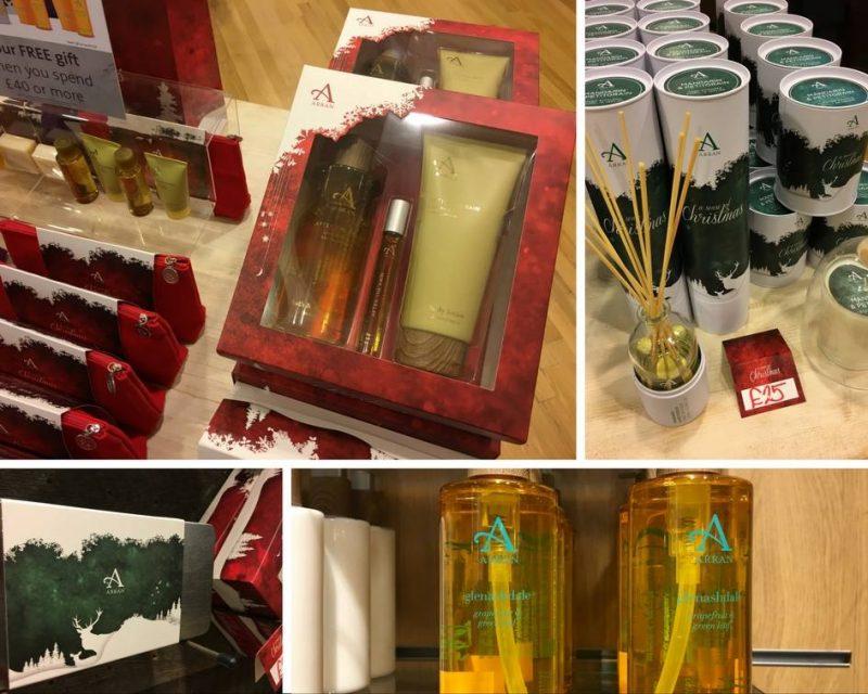 ARRAN Sense of Scotland Christmas 2016 gift sets