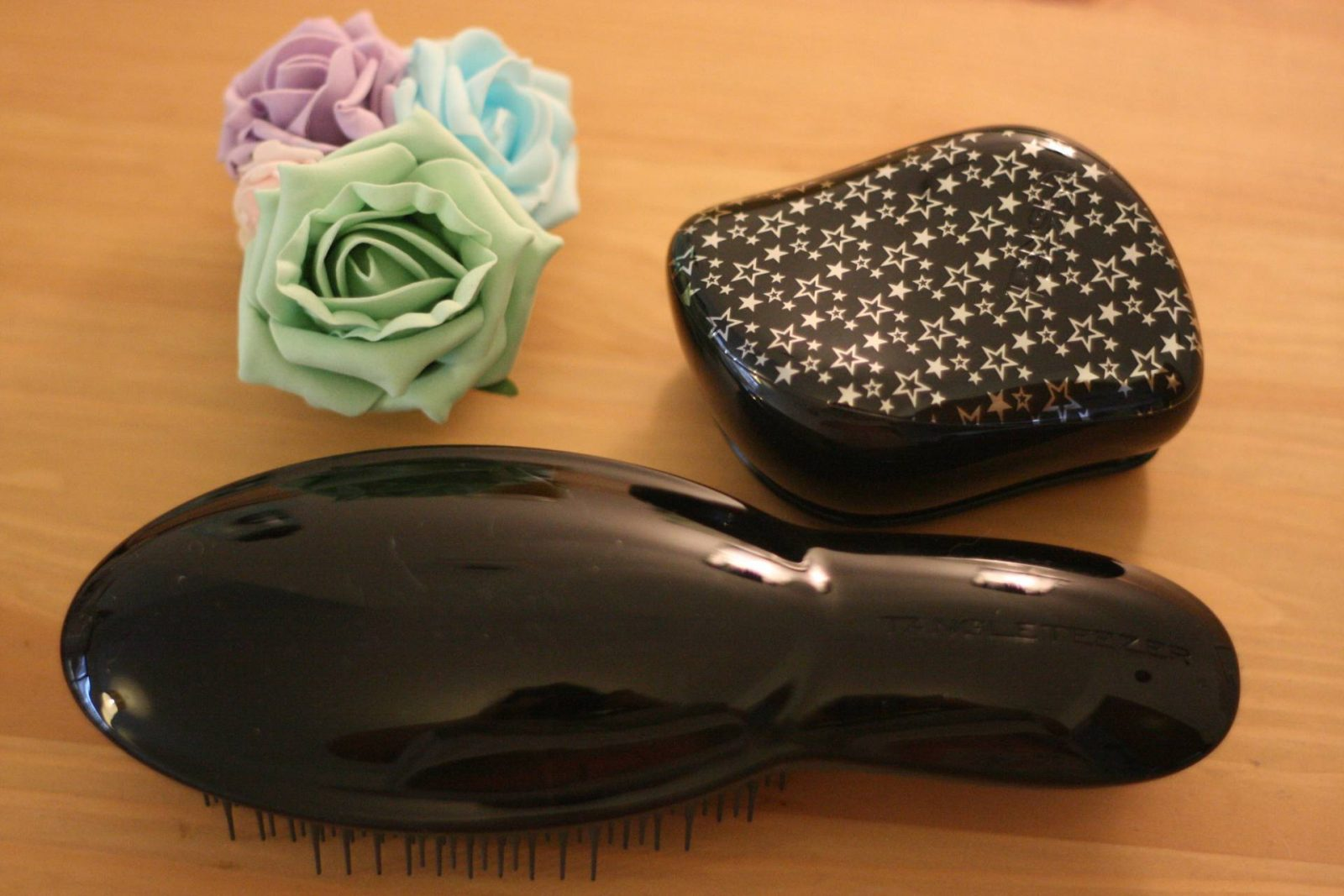 saying sorry to my hair with tangle teezer and kiehl's;