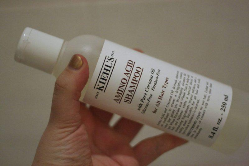 Saying sorry to my hair with Kiehl's amino acid shampoo