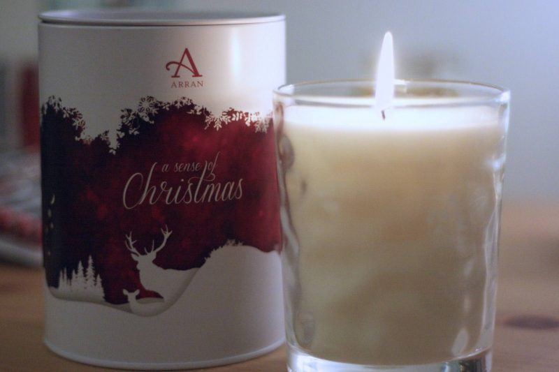 Arran Sense of Scotland Christmas 2016 Soft Cinnamon scented candle