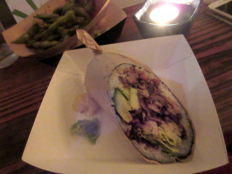 Temaki Glasgow Japanese casual dining - sushi burrito