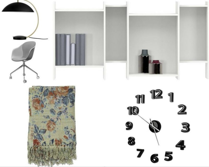 BoConcept office makeover collage