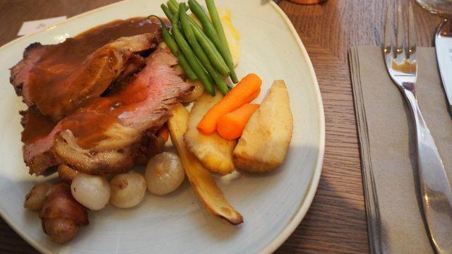 The Larder Bearsden review: sirloin Sunday roast