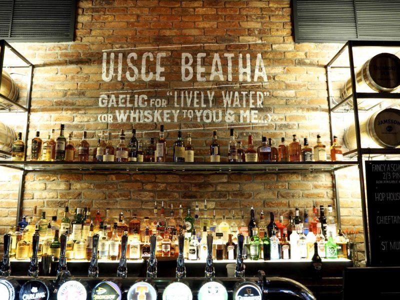 O'Neills Merchant Square Glasgow restaurant review - main bar