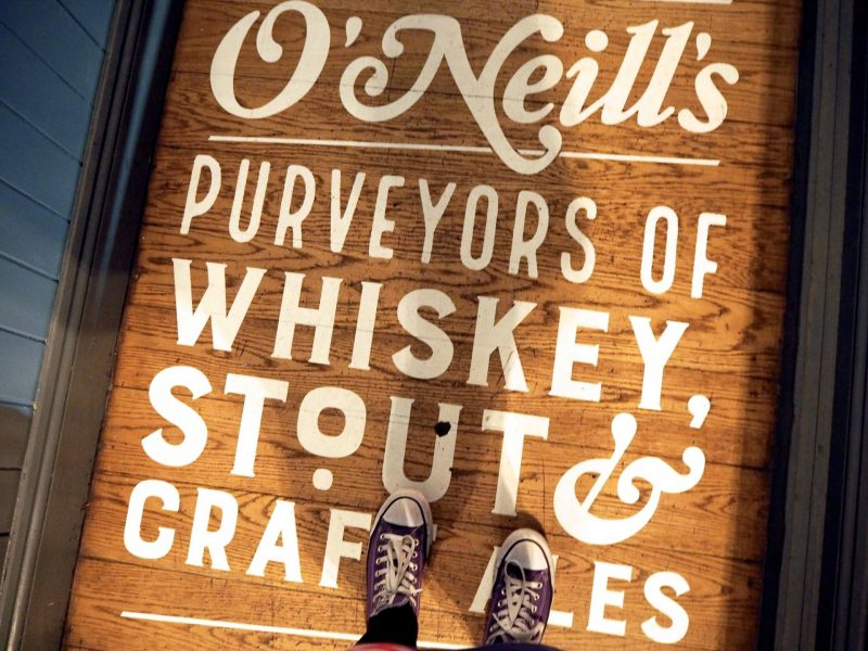 O'Neills Merchant Square Glasgow restaurant review - Purveyors of whiskey