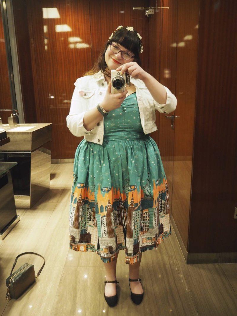 UK Modcloth alternatives - Lindy Bop - New York print dress