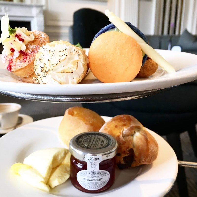 Culture Consumption April 2017 - Afternoon tea at Blythswood Square Hotel
