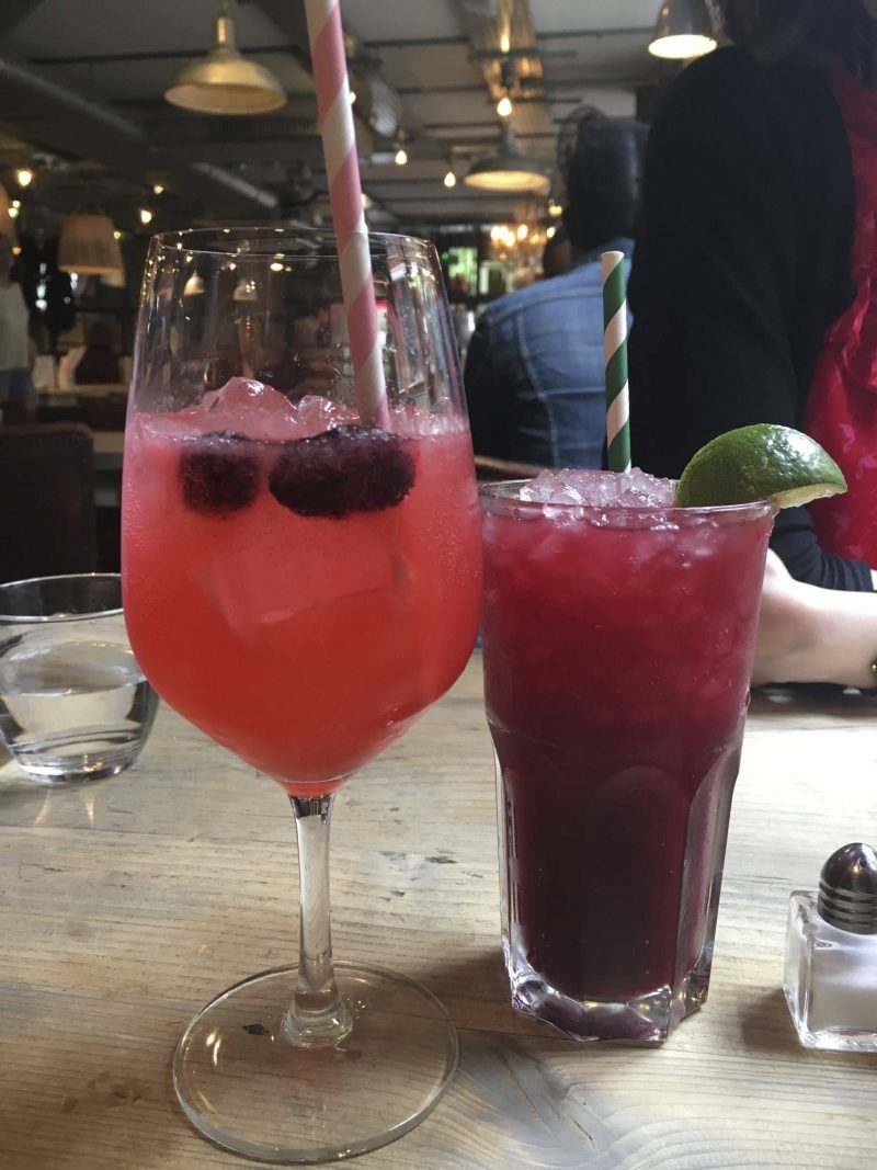 36 hours in London - cocktails at Bill's, Hoxton Square