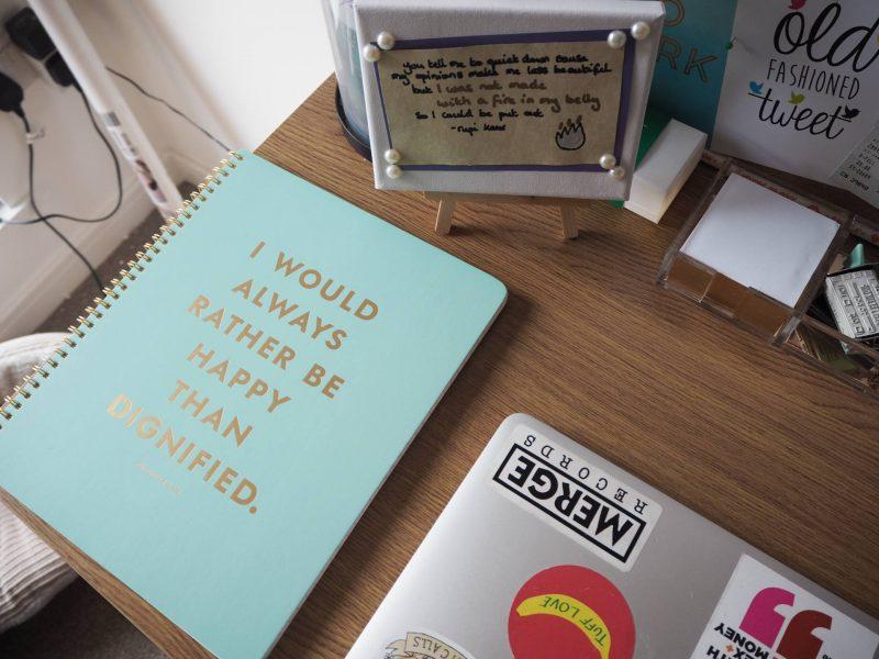 Freelance Mondays - Kate Spade Charlotte Bronte notebook Amara Living