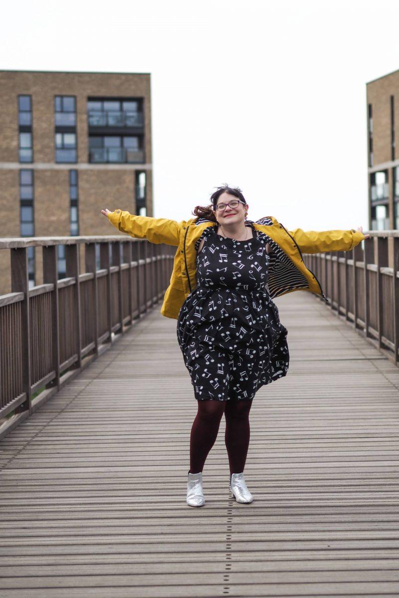 Trespass Seawater women's waterproof jacket review - Last Year's Girl
