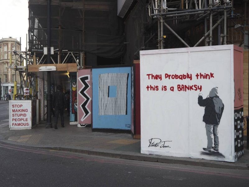 36 hours in London - Think This Is A Banksy, Shoreditch