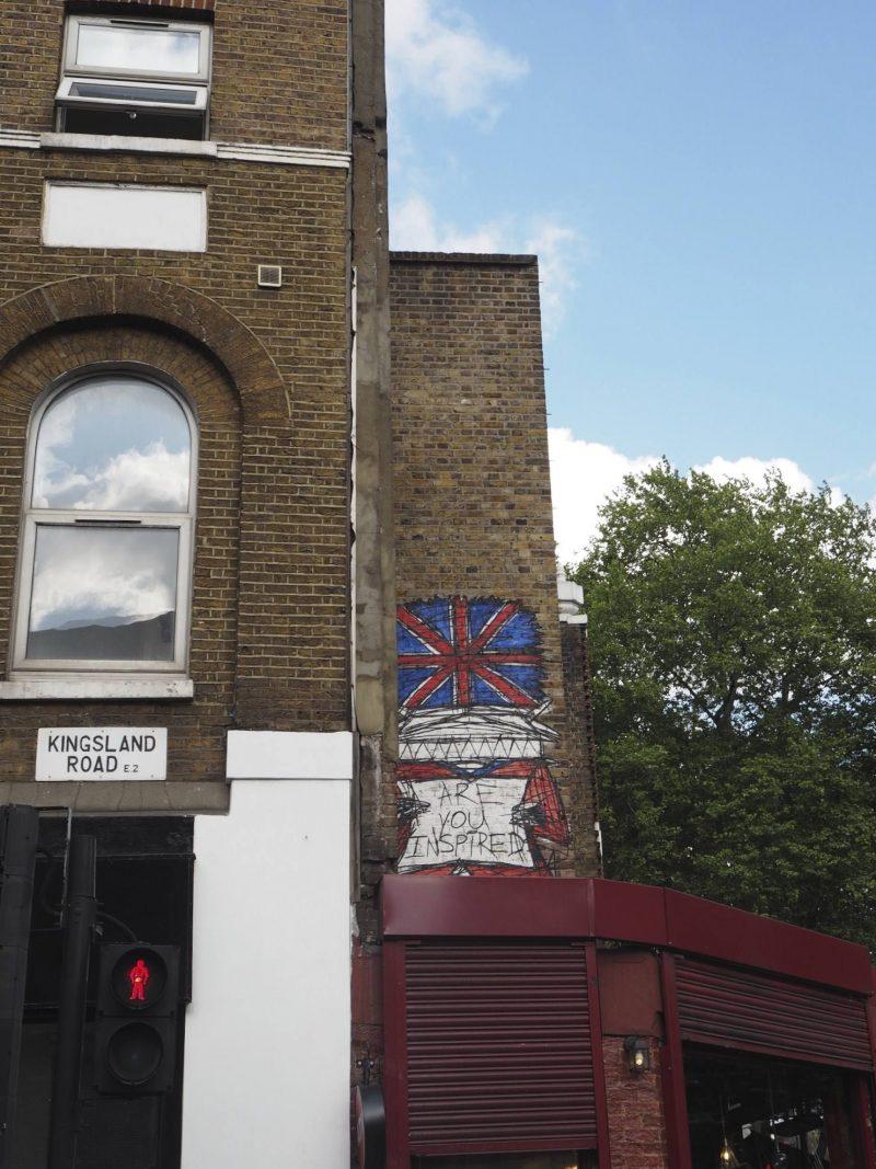 36 hours in London - street art, Shoreditch