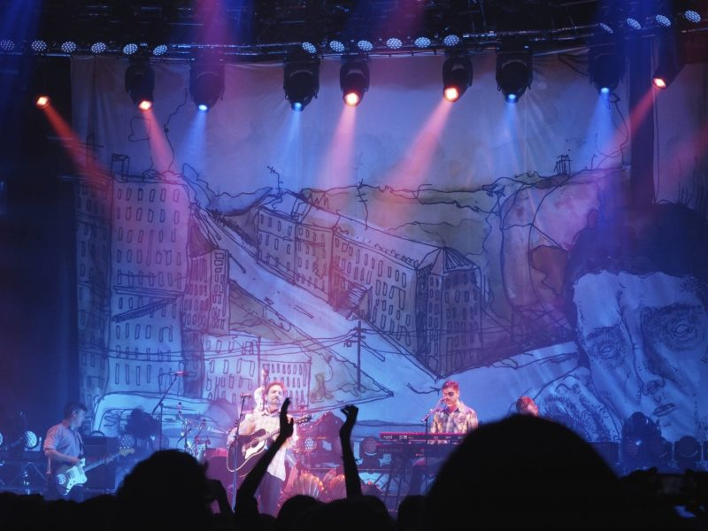 36 hours in London - Frank Turner and the Sleeping Souls play Sleep is for the Week